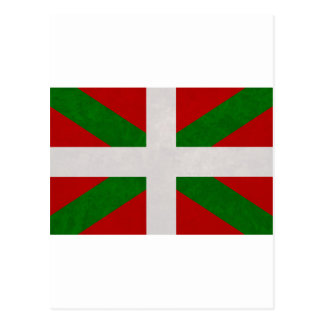 Postal Bandera Pays Basque Euskadi
