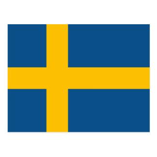 Postal Bandera sueca