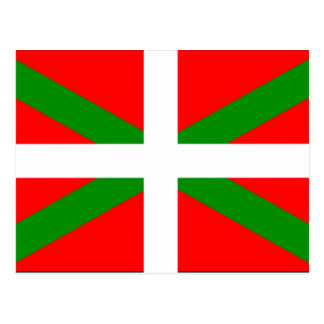 Postal Bandera vasca