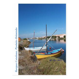 Postal Barcas Catalanas