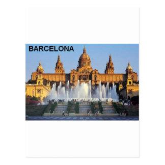 Postal Barcelona España