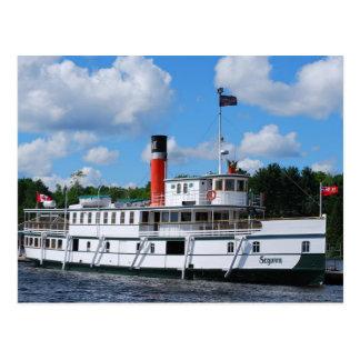 Postal Barco de vapor Segwun