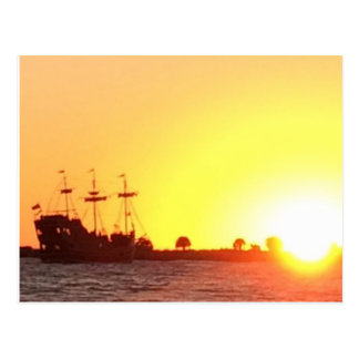 Postal Barco pirata