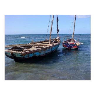 Postal Barcos en Haití