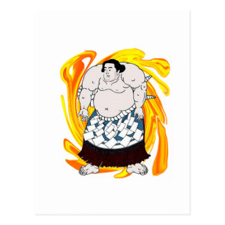 Postal Barrendero del sumo