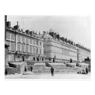 Postal Barricada durante la comuna de París