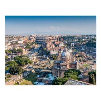 Postal barroca y antigua de Roma