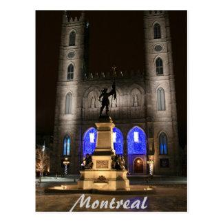 Postal Basílica de Montreal Notre-Dame