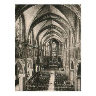 Postal Basílica de Notre Dame du Sacre-Coeur París