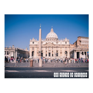 Postal Basílica de San Pedro en la Ciudad del Vaticano
