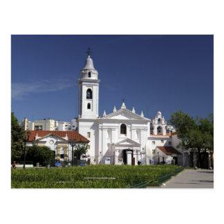 Postal Basílica Nuestra Senora del Pilar en Recoleta 2
