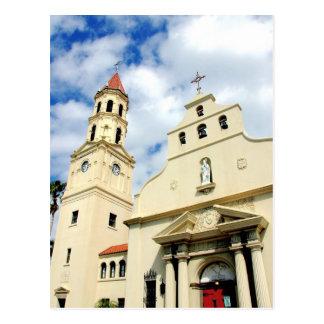 Postal Basílica St Augustine la Florida de la catedral