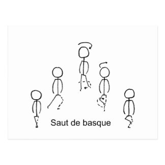 Postal Basque de Saut de