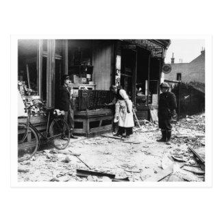 Postal Batalla de Inglaterra y los bombardeos: #29 sin