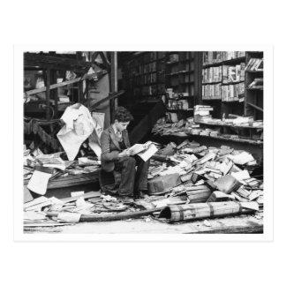 Postal Batalla de Inglaterra y los bombardeos: #33 al