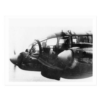 Postal Batalla de Inglaterra y los bombardeos: #39 He111