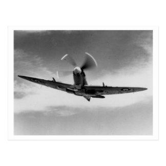 Postal Batalla de Inglaterra y los bombardeos: Spitfire