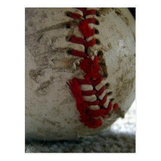 Postal Béisbol rasgado