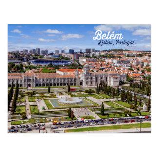 Postal Belém, Lisboa, Portugal