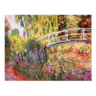 Postal Bella arte de Claude Monet