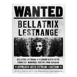 Postal Bellatrix Lestrange quiso el poster
