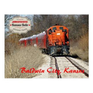 Postal Belleza de Kansas - motor 142