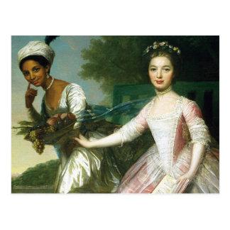 Postal Belleza y señora Murray de Dido Elizabeth