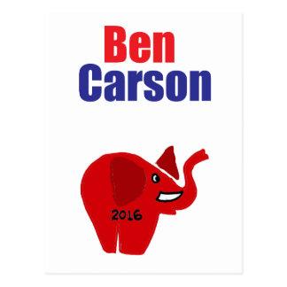Postal Ben Carson para presidente Design