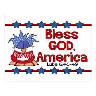 Postal Bendiga a dios, 6:46 de América Lucas - 49-Birds