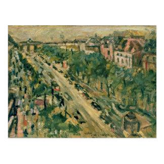 Postal Berlín, guarida Linden, 1922 de Unter