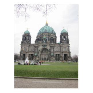 Postal Berlinés catedral