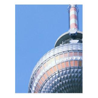 Postal Berlinés Fernsehturm