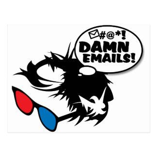 Postal Berna odia correos electrónicos