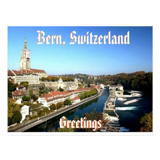 Postal Berna, Suiza (Mojisola Gbadamosi)