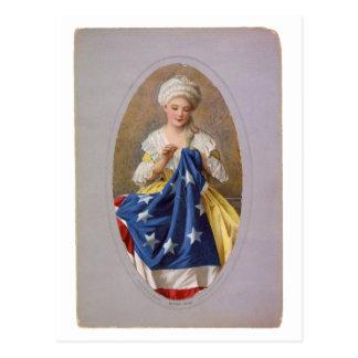 Postal Betsy Ross, c1908, G. Liebscher