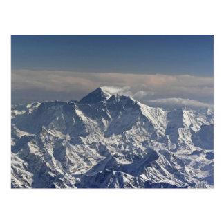 Postal BHUTÁN. Nieve eterna en la montaña de Everest,