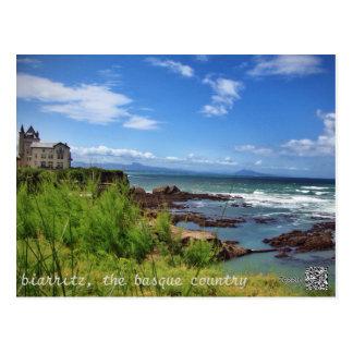 Postal Biarritz, el país vasco