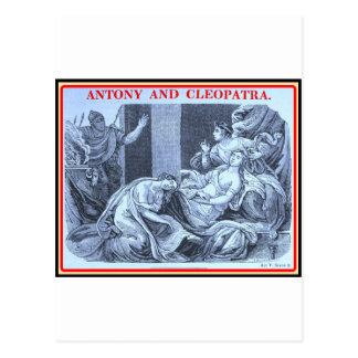 Postal Bibliomania: Shakespeare - Antonio y Cleopatra