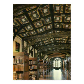 Postal Biblioteca de Bodlein, Universidad de Oxford,
