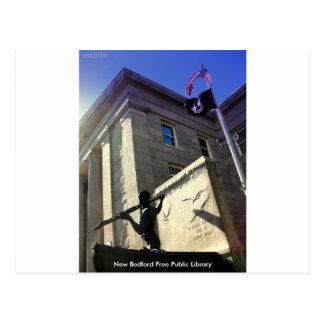 Postal Biblioteca pública libre de New Bedford