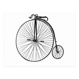 Postal - bicicleta antigua