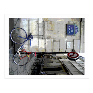 Postal Bicicleta parisiense