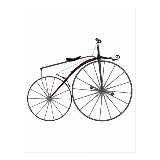 "Postal Bicicleta pasada de moda del ""Boneshaker"""