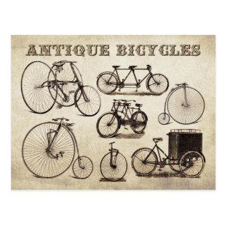 Postal Bicicletas antiguas (velocípedos)
