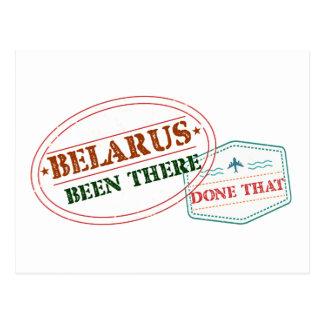 Postal Bielorrusia allí hecho eso