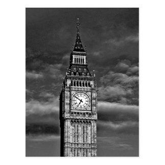 Postal Big Ben en Londres Reino Unido