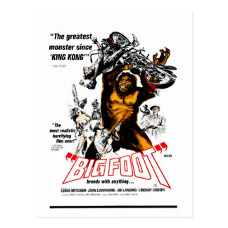 Postal ¡Bigfoot!