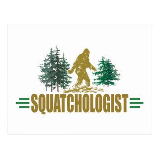 Postal Bigfoot divertido, Sasquatch