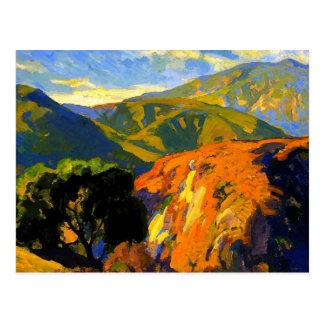 Postal Bischoff - colinas de Pasadena