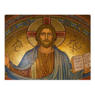 Postal bizantina de Cristo Jesús